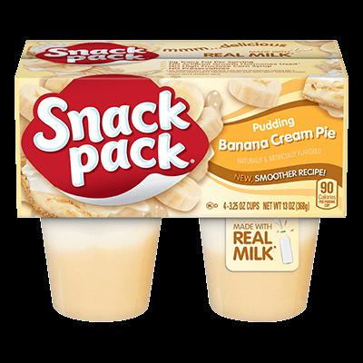 Banana Cream Pie Snack Pack