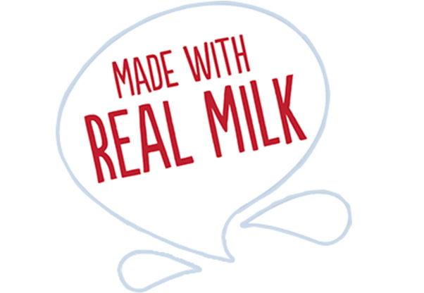 Made with Real Milk