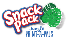 Snack Pack Jungle Print-A-Pals